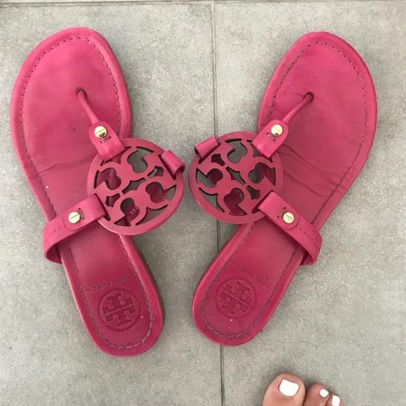 Tory Burch Shoes - Tory Burch Miller flip flops